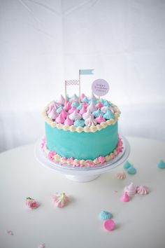You're frozen when your heart's not open ... I think of Madonna, kids think Frozen Princess Cake. Sweet frozen princess cake for Chloe's ice cold party!