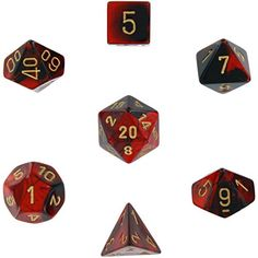 Polyhedral 7-Die Gemini Dice Set: Black & Red with Gold (... https://www.amazon.com/dp/B00M9QMJ6Q/ref=cm_sw_r_pi_dp_x_JTUezb63D94YC