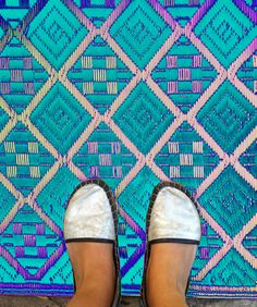 Outdoor rug, Re-imagined.