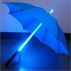 ZHOL Blue LED Lighted Umbrella (great when waiting for the bus in the rain)