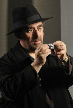 Saul Rubinek  My vote for Plutarch Heavensbee.  www.imdb.com - Warehouse 13