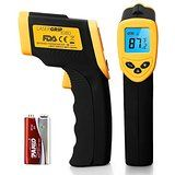 Etekcity Lasergrip 1080 Non-contact Digital Laser Infrared Thermometer, Yellow and Black @ DGonlineventures.com