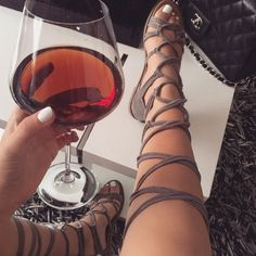 Ericdress Plain High Shaft Lace-Up Heel Covering Flat Sandals Source by dinasv Sandals Lace Up Gladiator Sandals, Cute Sandals, Lace Up Heels, Cute Shoes, Me Too Shoes, Shoes Sandals, Flat Shoes, Dressy Flat Sandals, Flat Sandals Outfit