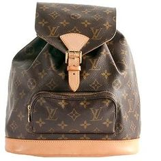 LOUIS VUITTON - In search of the perfect backpack! #bags #fashion