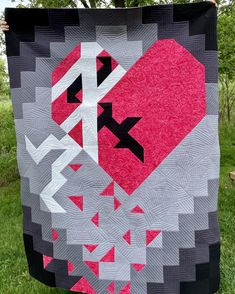 Mend My Broken Heart quilt pattern