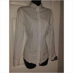 Designer CHARLES TYRWHITT Ladies Smart Casual 100% Cotton Blouse Shirt Top