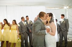 Stone Manor Country Club Wedding, First dance