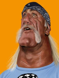 [ Hulk Hogan ] - artist: Ernesto Priego - website: http://dibustracion.blogspot.com/