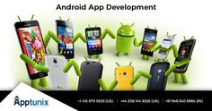 Apptunix is renowned Android app development company offering professional android app development services.