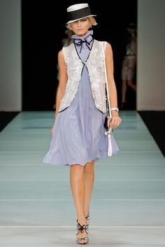 Emporio Armani Spring 2012 Ready-to-Wear Collection Slideshow on Style.com