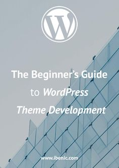 Learn about WordPress Theme Development in this guide for beginners. It will let you know how to start, what are child themes and even how to test your WordPress Themes. Wordpress For Beginners, Learn Wordpress, Wordpress Plugins, Blogging For Beginners, Wordpress Theme, Wordpress Template, Blogger Tips, Writing Tips, About Me Blog