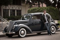 This highschooler is cool beyond his years. Check out his '37 #Ford Sedan. @Petrolicious