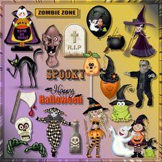 Scrapbooking TammyTags -- TT - Designer - Creative Elegance Designs, TT - Item - Element, TT - Theme - Halloween