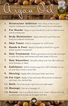 13 Easy Ways to Use Argan Oil