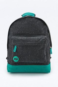 Mi-Pac Nep Jersey Backpack in Black #accessories #offduty #covetme #mipac