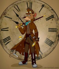 steampunk disney characters - Google Search