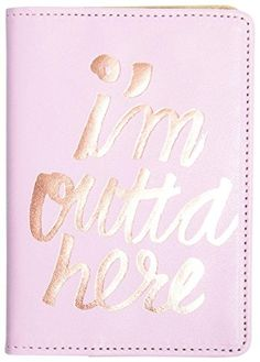 NEED this adorable passport case!