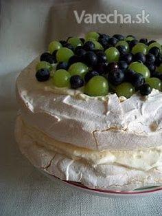 chute a vône mojej kuchyne.: Pavlova s uzasnou plnkou Sweet Recipes, Biscuits, Cheesecake, Pudding, Baking, Breakfast, Food, Sisters, Mascarpone