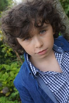 Serious Portait -  Looking like a young Harry Styles -  Picture taken by Lily Bennett