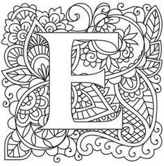 Mendhika Letter E_image