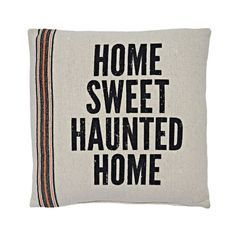 Haunted Home Halloween Pillow, 15