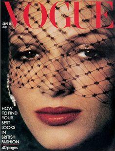 "September 1973  COVER: ""Best new beauty accessory - fine spot veiling."""