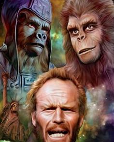 Charlton Heston Planet of the Apes Pierre Boulle, Plant Of The Apes, Mejores Series Tv, Image Film, Cinema Tv, Sci Fi Movies, Fiction Movies, Sci Fi Fantasy, Fantasy Movies