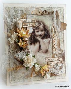 Filharmonicas kreative verden - DT card for Live & Love Crafts