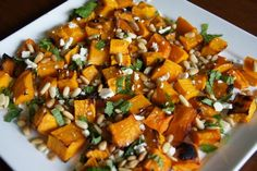 Bring A Plate ideas and recipes. Good recipes in this group. Roasted pumpkin
