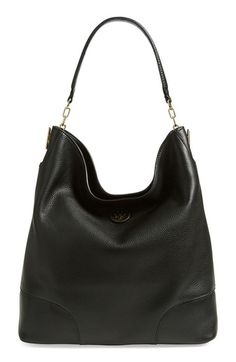Tory Burch Leather Hobo Bag Love it! Would want it in every color.
