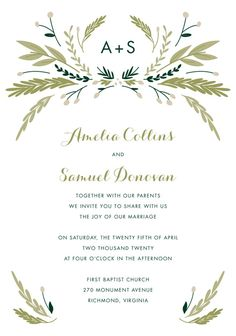 We discount this Birchcraft Invitation and Ship Free. Quaint Wedding Stationery.