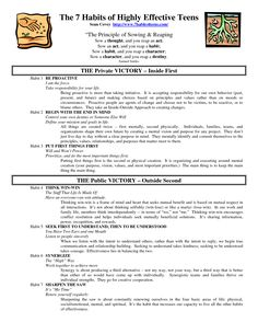 Worksheets 7 Habits Of Highly Effective Teens Worksheets pinterest the worlds catalog of ideas 7 habits highly effective teens quotes by sean covey