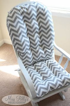 what i made for 3 reupholstered glider pinterest gliders