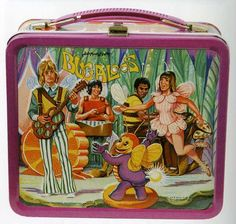 Vintage 1970 Bugaloos Lunchbox - This Saturday Morning Cartoon featured Phyllis Diller