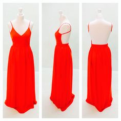 Paint. The. Town. Red. www.thedressbox.co.uk Backless, Paint, Formal Dresses, Red, Fashion, Moda, Formal Gowns, La Mode, Black Tie Dresses