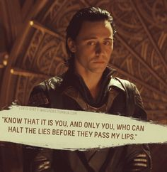 "Loki's Dirty Whispers - Submission: ""Know that it is you, and only you, who can halt the lies before they pass my lips."""