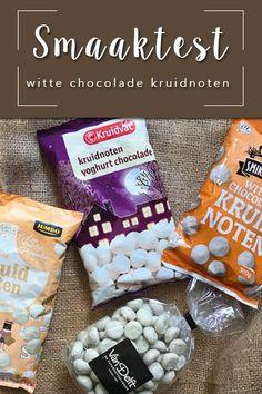 Welke witte chocolade kruidnoten zijn het lekkerst? #kruidnoten #wittechocolade #sinterklaas #pakjesavond Snack Recipes, Snacks, Chips, Blog, Snack Mix Recipes, Appetizer Recipes, Appetizers, Potato Chip, Blogging