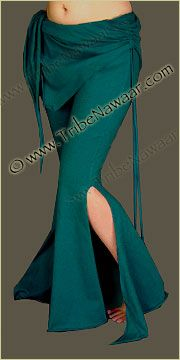 Tribe Nawaar Flared Leg Teal Sassy Pants for Tribal Fusion Belly Dance Teal Green Hoop Dance Pants and Teal Blue Yoga Pants Gypsy Wear Clothes Burning Man Clothing Burner Pants Raver Gear Firefly Melo Style