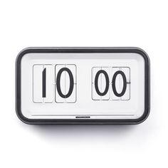 Gino Valle Retro Flip-Clock
