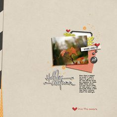September Scraplift Challenge (Peppermint)<br /> Credits: OLB - Equinox, Epic & Crazy For You