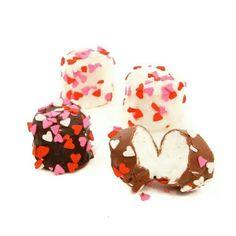 Choc marshmallow puffs