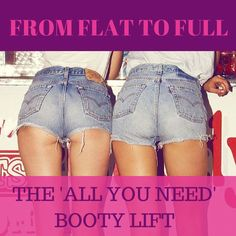 no kit? no tool? no gym? No PROBLEM! Get the best out of your butt with these 10 killer exercises!  http://ilostmyweight.com/15-minute-booty-lift-2