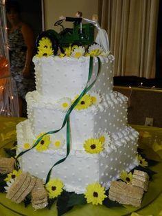 Cute John Deere wedding cake topper :) | Wedding | Pinterest | John ...