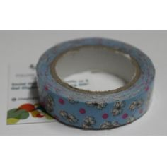 Buy Blue white Flower-Decorative Tape / Adhesive for any use by undefined, on Paytm, Price: Rs.125?utm_medium=pintrest