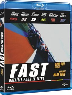 Fast (Bataille pour le titre) VALENTINO ROSSI - BLU-RAY NEUF