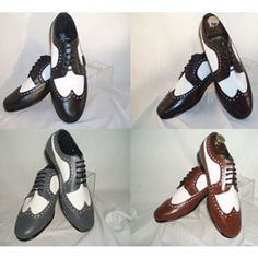 Clothing Mens Shop: Gatsby era suits, hats, shoes, ties, vests spectator shoes www. Mode Vintage, Vintage Shoes, Vintage Men, 1920 Shoes, 1920s Mens Shoes, Vintage Prom, 1920s Outfits, Vintage Outfits, 20s Fashion