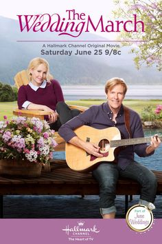 "Hallmark Channel Movie ""The Wedding March"" starring Jack Wagner and Josie Bissett June 25, 2016"
