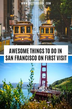 Looking for the best things to do in San Francisco? Find best places to visit in San Francisco-Golden Gate Bridge, Fisherman's Wharf & Lombard Street via San Francisco Resorts, San Francisco Attractions, San Francisco Travel Guide, San Francisco Must See, Places In San Francisco, Beautiful Places To Visit, Cool Places To Visit, Lombard Street, Amazing Destinations