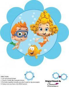 {Free} Printable Bubble Guppies Wall Decor 3
