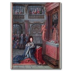 Frontispiece of the 'Hours of Louis XIV' depicting Louis XIV, C, French school Louis Xiv, Versailles, Fine Art Prints, Framed Prints, Canvas Prints, Ludwig Xiv, French Royalty, French History, Thing 1